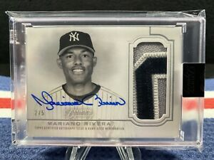 2020 Topps Dynasty Mariano Rivera Auto Game Used Patch. Numbered 2 5. $595.00