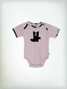 Haute Baby Girls Rodeo Pink Boutique Bodysuit Rodeo Queen $28.00