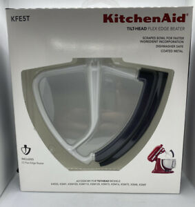 KitchenAid Flex Edge Beater KFE5T for 4.5 5 Quart Tilt Head Mixers New In Box $20.80
