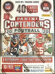 2020 Panini Contenders Football NFL Blaster Box Brand New Sealed prizm donruss $52.95