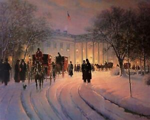 An Evening With The President By G.Harvey 8 X 10 PRINT $6.99
