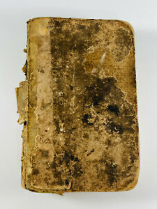 c.1700#x27;s Antique On the Imitation of Christ British English Edition HC book $349.99