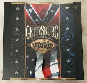 Gettysburg Deluxe Letterboxed Box Set LASERDISC NOT DVD Factory Sealed $49.99