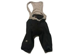 Giordana Ride Mens Fit Cycling Bib Shorts Suit Bicycle Padded Size L Black White $29.95