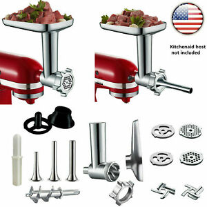 PRO Food Meat Grinder Sausage Attachment For Kitchenaid Stand Mixer Accessories