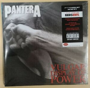 Pantera Vulgar Display of Power NEW Sealed 2xLP Vinyl Record Metal $39.95