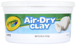 Crayola Air Dry Easy to Use Durable Non Toxic Self Hardening Modeling Clay 2.5 $6.07