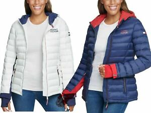 Tommy Hilfiger Ladies#x27; Packable Jacket VARIETY Size amp; Color Free Shipping L32 $48.95