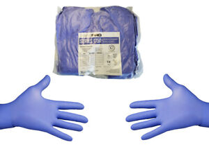 180 Count✔ Purple Blue Nitrile Gloves PF XL Extra Large $25.50
