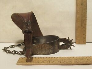 August BUERMANN EUREKA Cowboy Spur with heel chain Western SINGLE SPUR  2