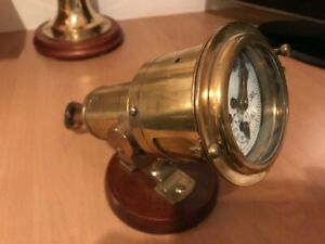 ANTIQUE SHIPS LIGHT BRASS. Walkers Cherub Mk 11 Marine Log. maritime yacht boat GBP 189.00