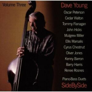Dave Young : Two By Two Piano Bass Duets Vol. 3 Jazz 1 Disc CD $5.55
