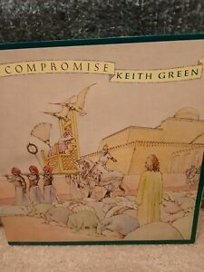 KEITH GREEN No Compromise Record LP Sparrow Records Contemporary Christian Music $14.95