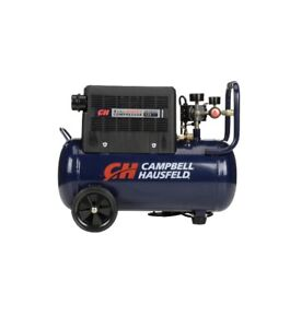 Campbell Hausfeld 8 Gallon Portable Quiet Air Compressor AC080510 Open Box Used