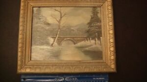 Antique Oil Painting Signed Bretten? Brelten? Retten? $74.99