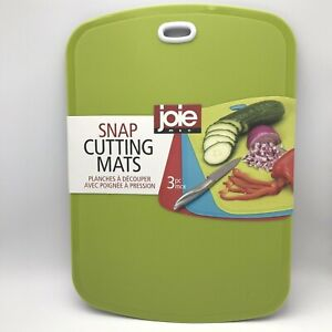 Joie Snap 3 Piece Cutting Mats 3 Colors NEW IN PACKAGE