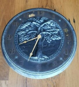 Virginia Metalcrafters Cast Metal Outdoor Clock $175.00