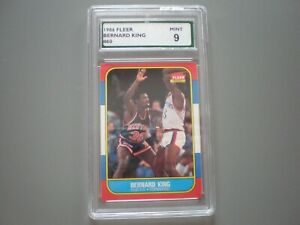 1986 Fleer Basketball Knicks Bernard King Card # 60 Mint 9 $32.99