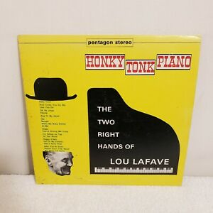 HONKY TONK PIANO Two Right Hands Of Lou Lafave Allied ALS 135 LP TESTED $8.95