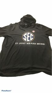 Alabama SEC It Just Means More And Workout Hooded Dri Fit Shirts SIZES S XXL $25.00