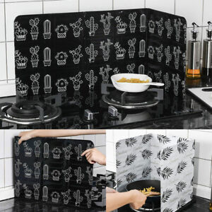 Home Kitchen Cooking Oil Splash Screen Cover Anti Splatter Stove Shield Guard