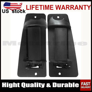 2PCS Rear Outside Door Handle for 99 07 Chevy Silverado GMC Sierra Extended Cab $12.50