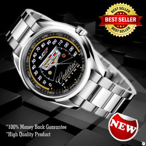 NEW Wristwatch* Cadillac Racing Speedometer Sport Unisex Adult *NEW Design* $26.70