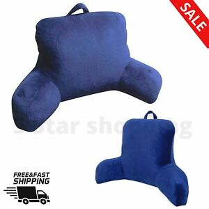 27 X 14 X 18 MINK FABRIC REST LOUNGER PILLOW Polyester Indigo Solid Color
