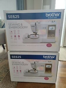 NEW In Box Brother SE625 Computerized Sewing and Embroidery Machine FREE SHIP $569.99