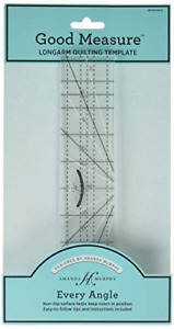 Good Measure 1 4quot; Thick Machine Quilting ruler $32.49