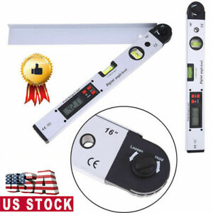 Digital Electronic Angle Finder 400mm Goniometer Protractor Measuring Ruler $40.99