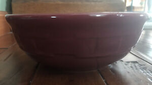 longaberger woven traditions pottery paprika cereal bowl Excellent $25.00