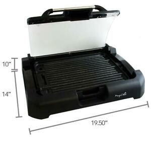 Smokeless Indoor Electric Grill 1800 Watts XL Non Stick BBQ Removable Lid New