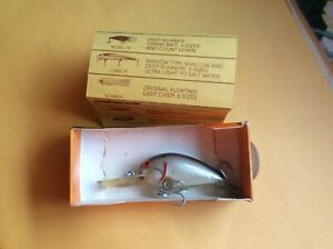Vintage BOMBER Lure Model A Deep Runner New In Box #7