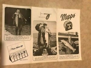 Mepps Trout Stuffer Request Form from 1972; Rare item