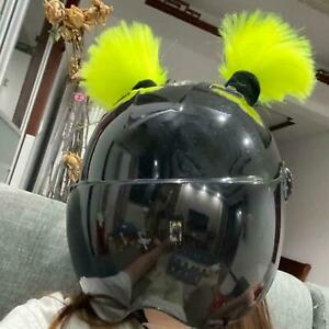 Helmet Pigtails Braids with Suction Cup for Motorcycle Used for Any Helmets