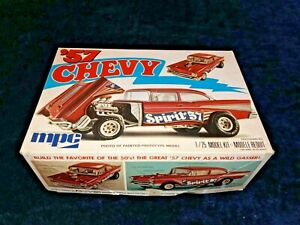 #x27;57 Chevy SPIRIT OF #x27;57 MPC 1 25 Scale VINTAGE Kit #1 0705 Complete amp; Unstarted $19.99