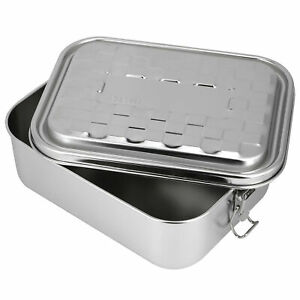 Single Layer Lunch Box Food Bento Container Stainless Steel 304 Home Accessor Us