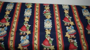 2yds x 44 Marcus Brothers Joyful Angels Sewing Quilting Cotton Fabric $7.99