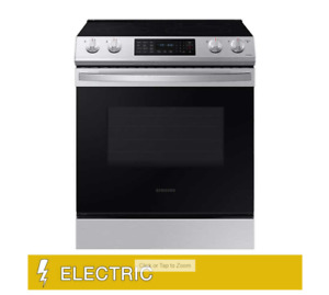 Samsung 6.3 cu. ft. Front Control Slide in Electric Range with Convection and Wi
