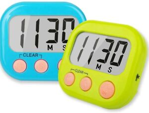 Classroom Timers for Teachers Kids Large Magnetic Digital Timer 2 Pack $6.99