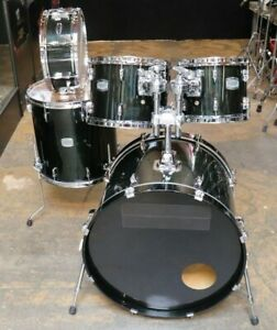 Yamaha 5pc Stage Custom Drum Set Raven Black $499.99