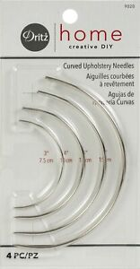 Dritz Curved Upholstery Needles. These Curved Needles Are Designed To Aid In Uph $8.08