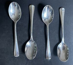 Four 4 Gorham Colonial Tipt Stainless Steel Tablespoons $39.99
