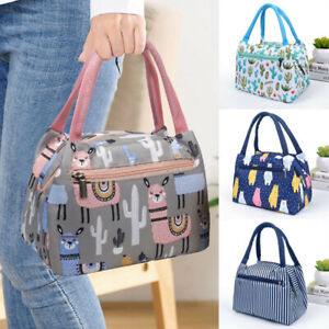 Insulated Lunch Bag Totes Cooler Large Bento Box Bag For Women Girl Boys Office