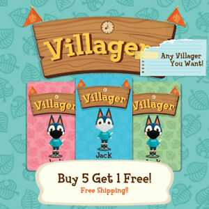 ACNH ANY VILLAGER AVAILABLE INCLUDING SANRIOS $2.99