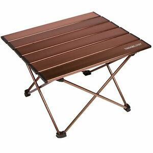 Refurbished Trekology Small Camping Side Table Folding Picnic Beach Table
