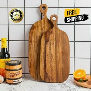 Wooden Chopping Board Meat Bread Pastry Cutting Food Kitchen Apollo 2021 NEW