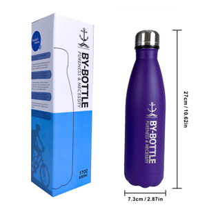 17Oz Vacuum Insulated Water Bottle with Double Wall 304 Stainless Birthday gifts