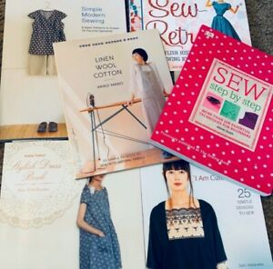 Japanese Sewing Books Bundle Package $60.00